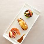 カナダ産オマール海老3種の味わい ロースト・グラタン・サラダで